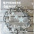 BOUTIQUE EPHEMERE DE <b>NOEL</b>
