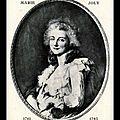 SOUMONT-SAINT-<b>QUENTIN</b> (14) - LA POMPE FUNÈBRE DE MARIE-JOLY, COMÉDIENNE (1761-1798)