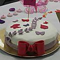 Mes essais de <b>gâteaux</b> décorés
