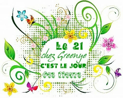 jour des fleurs widget