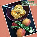 Sorbet <b>plein</b> fruit abricots & romarin
