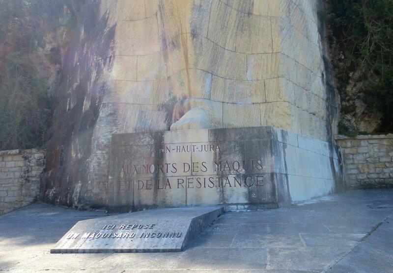 Mémorial Maquis de l'Ain - Plaque Maquisard Inconnu