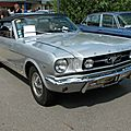 Ford Mustang 289 convertible (1964-1966)