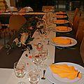 <b>Décoration</b> 50 ans~~ théme l'automne~~ couleur orange et chocolat