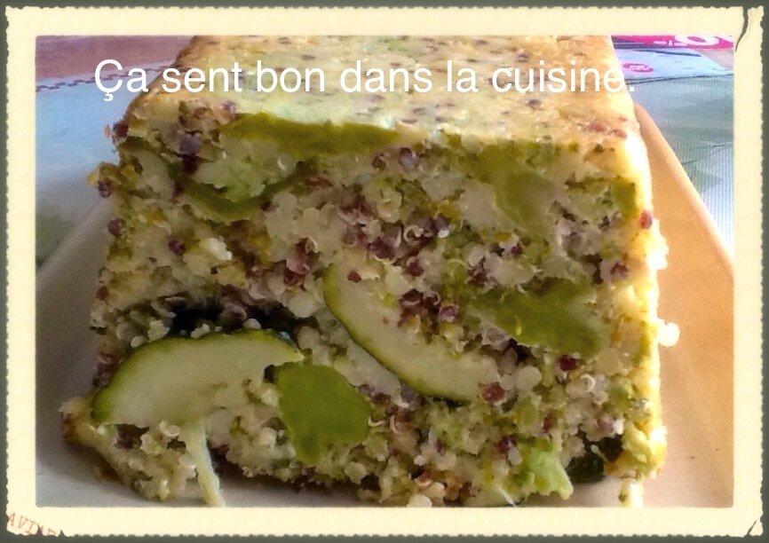 Cuisiner les l gumes verts en flan ou en terrine au quinoa - Cuisiner les poivrons verts ...