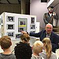 Visite d'une exposition sur la <b>Première</b> Guerre Mondiale