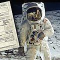 Alunissage : note de frais, ceinture et science fiction !