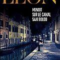 Minuit sur le canal San Boldo, <b>polar</b> de Donna Leon