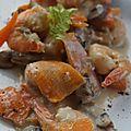 BLANQUETTE de Gambas et de Crevettes