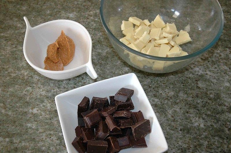 Baño Blanco De Azucar Receta: una pasta suave y lisa,ablandar tambien la mantequilla de cacahuate