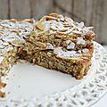 Gâteau moelleux à la ricotta, amandes et citron - <b>sans</b> <b>gluten</b>