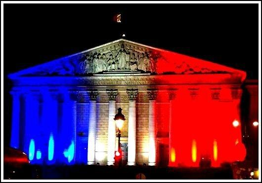 Assemblée nationale nuit