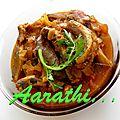 <b>Mathi</b> Mulakilittathu - Malabar Sardine Curry