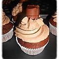 Cupcakes au <b>kinder</b> bueno