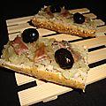 Baguette pissaladière