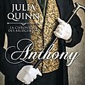 Anthony ❉❉❉ Julia <b>Quinn</b>