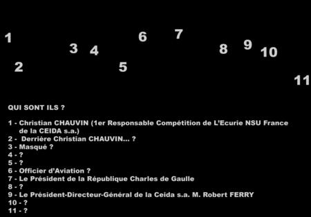 Charles de Gaulle-Robert Ferry (Dora Zynger) (Salon Paris 66) 02 Qui sont ils