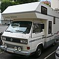 VOLKSWAGEN Transporter T3 <b>camping</b> <b>car</b> little Hilton