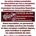 Escroquerie sur internet - Paralysie des transactions financières frauduleuses : C'EST POSSIBLE !