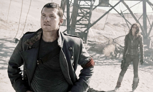 Sam Worthington & Moon Bloodgood