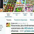 <b>Réseaux</b> <b>sociaux</b> : découvrez les dernières news de Prizee sur Twitter