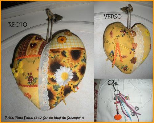 Lot coeur et porte-clés 10€