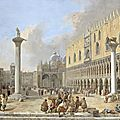 <b>Luca</b> <b>Carlevarijs</b> (1663 - 1730), The Piazzetta at Venice