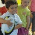 Initiation Rugby pour les petits.