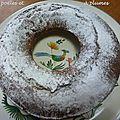Gâteau <b>marbré</b> pour mon petit frère