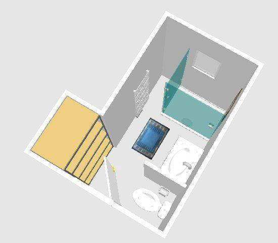 Plan d 39 am nagement petit salle d 39 eau 5 6m2 26 messages for Salle de bain 7m2 en longueur