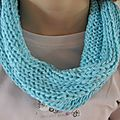 Snood en <b>Cometa</b> bleu