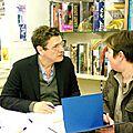 Marc Lavoine a ravi ses fans, à la librairie du <b>Théâtre</b>