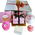 Coffret de <b>Bain</b> Bulles de Fruits