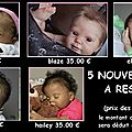 NEWS BEBE <b>REBORN</b> CHIC ...Bientot la fte des mres ! 