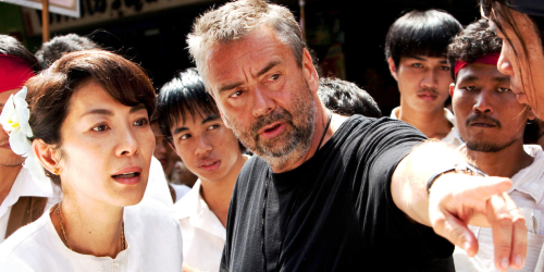 Luc Besson sur le tournage de The Lady