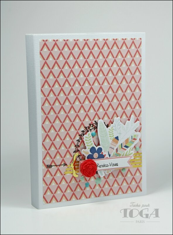 Agenda collection Plumes - DT Tacha 2p