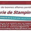 La féerie de promotions de Stampin'Up