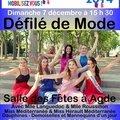 Défilé de Mode dimanche 7 décembre au profit du Téléthon 2014 ...
