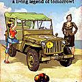 (Fausse) Pub <b>Jeep</b> Willys II