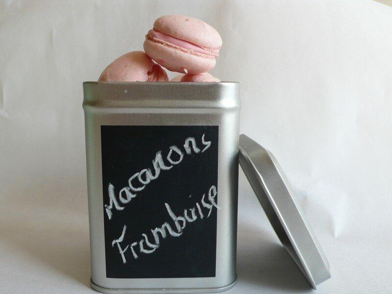 recettes  Macarons : chocolat ou eau de rose ?