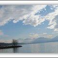 Promenade au bord du <b>lac</b> du <b>Bourget</b>