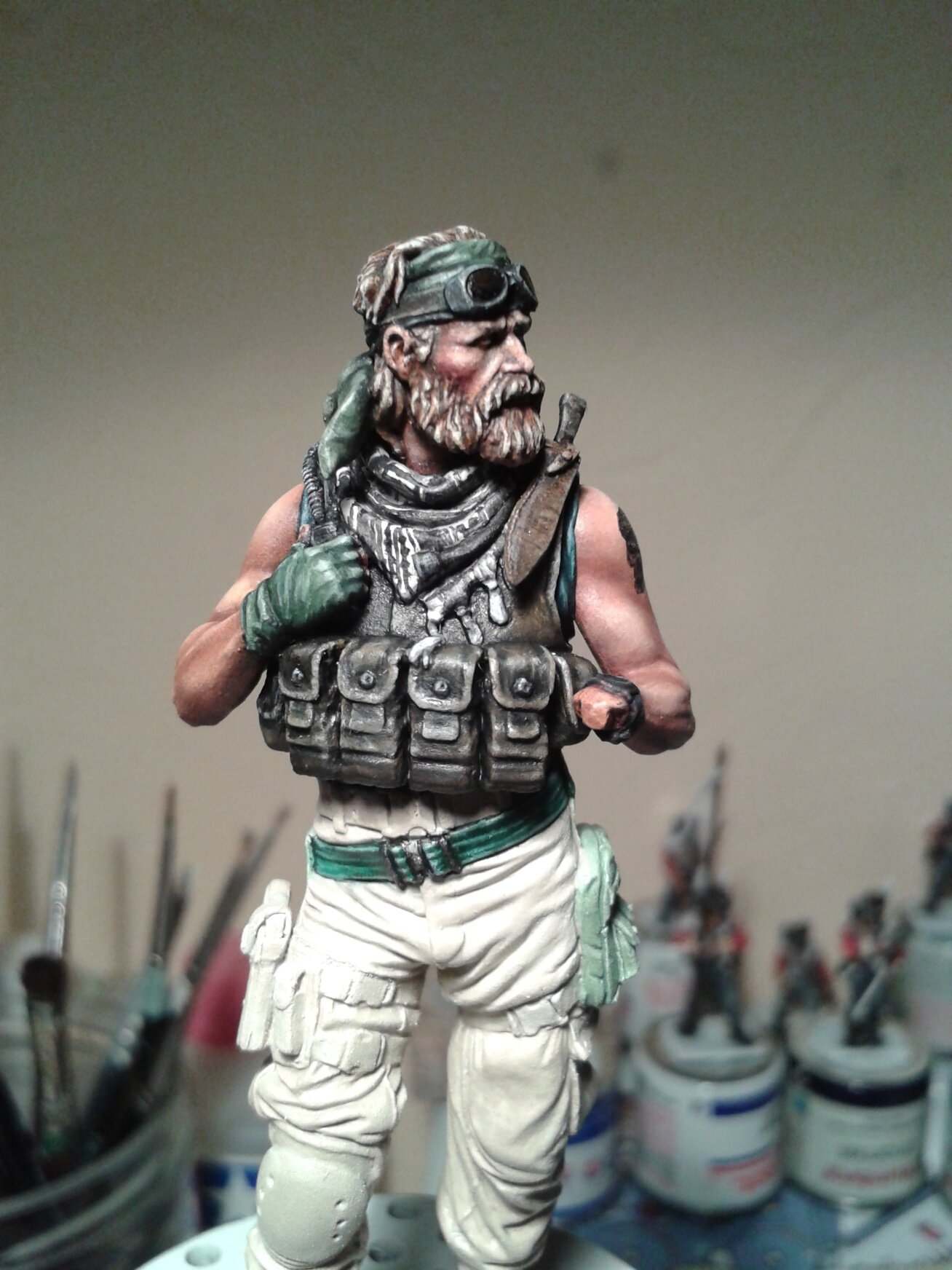 Green Beret-knight models TERMINE 104262871_o