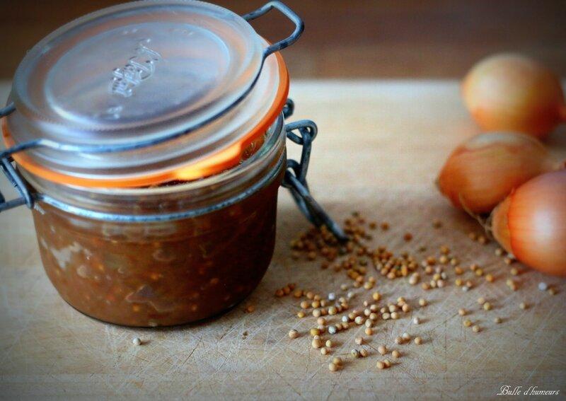 confit d'oignons au graines de moutarde #5