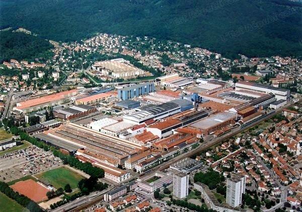 Alstom Belfort vue aérienne
