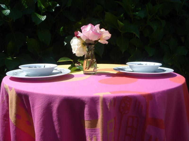 Assiettes et gourmandises blog archive un diner for Alexandre jardin mes trois zebres