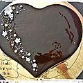 Entremet Royal chocolat végétalien - <b>pâtisserie</b> vegan