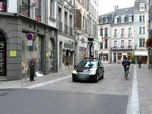 la voiture de google street view mulhouse et dans les travaux eric bloggeur mulhousien sur. Black Bedroom Furniture Sets. Home Design Ideas