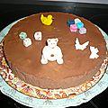 gateau mousse au chocolat et tutoriel de <b>modelages</b> en <b>pate</b> <b>à</b> <b>sucre</b>