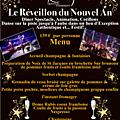 Idée de <b>Restaurant</b> pour Soirée du Réveillon du Nouvel AN 2017 Seine-et-Marne 77