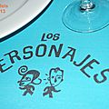 Los Personajes (Restaurant Castelldefels Catalogne Barcelone Espagne)
